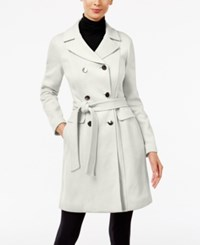 Inc International Concepts Double Breasted Car Coat Only At Macy's Washed White