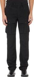Todd Snyder Tweedy Cargo Pants Black