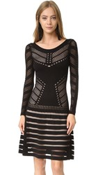 Temperley London Alysia Knit Dress Black