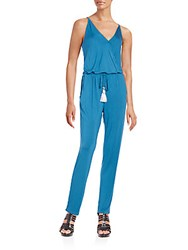 Young Fabulous And Broke Chrissy Jumpsuit Pacfic Blue