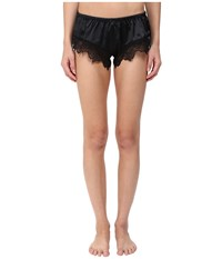 Emporio Armani Sexy Satin And Lace Shorty Black Women's Underwear