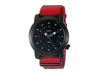 Neff Tactical Watch Black Maroon Watches Burgundy