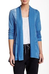 Marc New York Super Wash Cardigan Wrap Blue