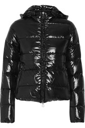 Duvetica Adhara Quilted Shell Down Coat Black