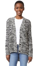 N 21 Cardigan Marl Grey