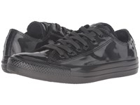 Converse Chuck Taylor All Star Metallic Rubber Ox Black Pearl Black Pearl Black Pearl Women's Lace Up Casual Shoes