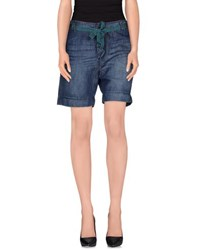 Jucca Denim Denim Bermudas Women