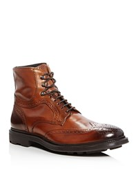 To Boot New York Hobson Wingtip Boots Light Brown