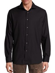 Polo Ralph Lauren Relaxed Fit Cotton Twill Button Down Shirt Black