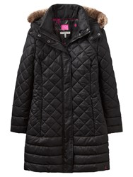 Joules Snowshill Padded Jacket Black