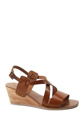 Diba Gab Brella Wedge Sandal Brown