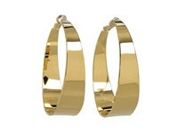 Vince Camuto Core Ears Tappered Hoops Gold Earring