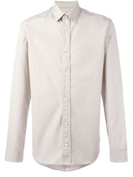 Maison Martin Margiela Classic Long Sleeve Shirt Nude And Neutrals