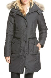 Andrew Marc New York Women's Andrew Marc Long Down Parka With Genuine Coyote Fur Trim