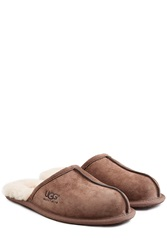 Ugg Australia Scuff Suede Slippers Red