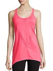 Nanette Lepore Sleeveless Solid Tank Top Coral