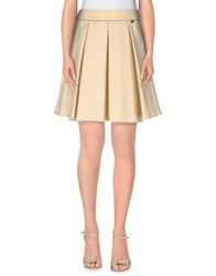 Giorgia And Johns Giorgia And Johns Skirts Mini Skirts Women Yellow