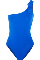 Eres Petula Nikki One Shoulder Swimsuit Azure