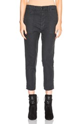The Great Slouch Army Pants In Black