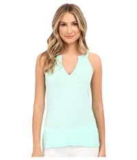 Lilly Pulitzer Arya Tank Top Poolside Blue Women's Sleeveless