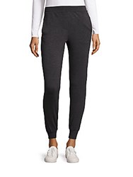 Candc California Heather Textured Leggings Charcoal