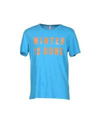 Sun 68 Topwear T Shirts Men Azure