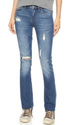 Blank Relaxed Straight Leg Jeans Shoot And Score