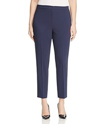 Marina Rinaldi Radio Slim Ankle Pants Navy
