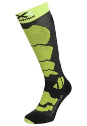 X Socks Control 2.0 Sports Anthracite Green Lime