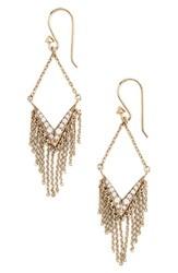 Women's Melinda Maria 'Shelli' Fringe Drop Earrings