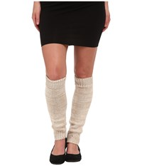 Ugg Classic Marled Leg Warmer Moonlight Multi Women's Knee High Socks Shoes Black
