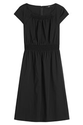 Steffen Schraut Smocked Dress Black