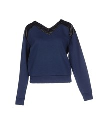 Cycle Topwear Sweatshirts Women Dark Blue