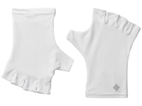 Columbia Coolhead Fingerless Gloves White Extreme Cold Weather Gloves