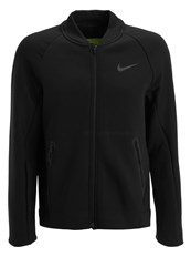 Nike Performance Tracksuit Top Black Volt