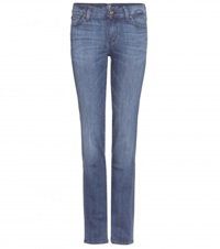 7 For All Mankind The Straight Jeans Blue