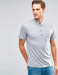 Farah Jersey Polo Shirt Grey