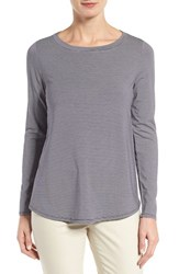 Nordstrom Women's Collection Stripe Jersey A Line Top