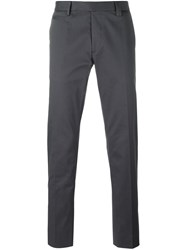 Fendi Slim Chino Trousers Grey