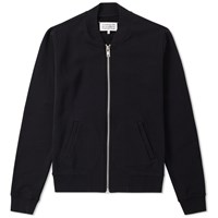 Maison Martin Margiela 14 Elbow Patch Zip Sweat Black