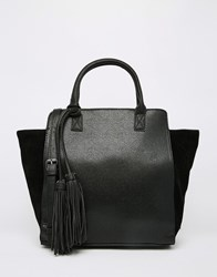 Pieces Tote Bag Black