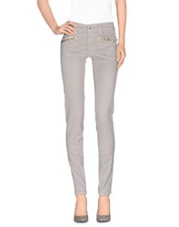 S.O.S By Orza Studio Trousers Casual Trousers Women Light Grey