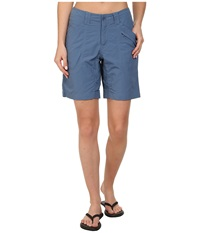 Royal Robbins Backcountry Walker Ink Women's Shorts Navy