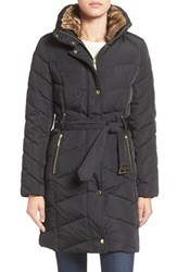 Cole Haan Women's Water Repellent Quilted Walking Coat