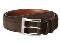 Torino Leather Co. 35Mm Italian Calf Suede Brown Men's Belts