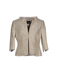 Akris Suits And Jackets Blazers Women Beige