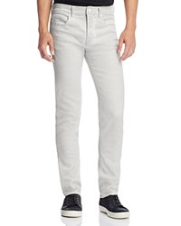 Mcq By Alexander Mcqueen Strummer Slim Fit Jeans Optic White
