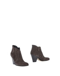 Maria Cristina Ankle Boots Steel Grey