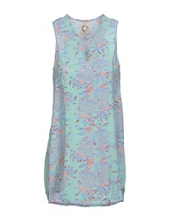 Dress Gallery Tops Turquoise