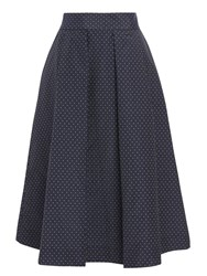 Baum Und Pferdgarten Sashenka Full Pleat Skirt Jacquard Dots